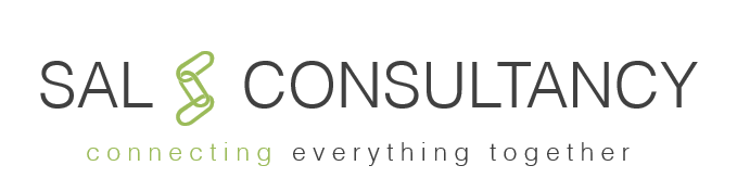 SAL CONSULTANCY logo with subtitle